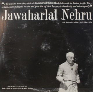 Jawaharlal  Nehru - Some Highlights From  This  Record.. - ECLP 2507 - (Condition 90-95%) - LP Record