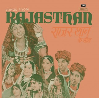 Rajasthan Ke Geet - EASD 1707 - (Condition 85-90%) - Cover Reprinted - LP Record