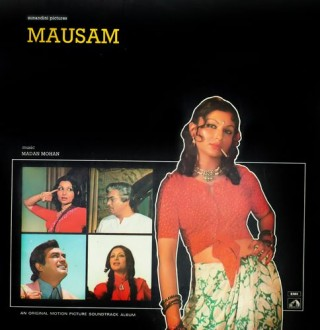 Mausam - EALP 4082 (Condition 75-80%) - Cover Reprinted - HMV Colour Label - LP Record