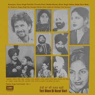 Teri Behn Di Nazar Buri - Songs From Punjab - Vol. 2 - ECSD 3119 – (Condition 90-95%) - Cover Reprinted – LP Record
