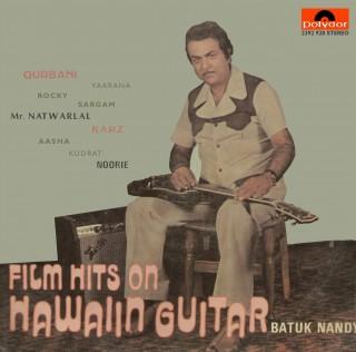 Batuk Nandy - Film Hits On Hawaiin Guitar - Bollywood Instrumental - 2392 928 - (Condition 80-85%) - Cover Reprinted - LP Record