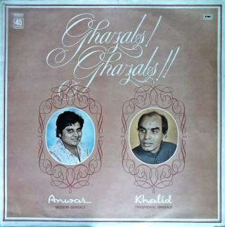 Anwar & Khalid - Ghazals Ghazals - S/45NLP 102 - Reprinted LP Cover Only