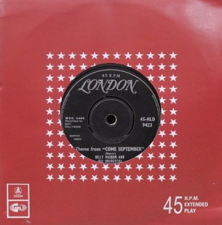 Come September - 45HLD 9423 – (Condition 80-85%) – LP Record