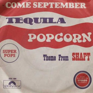 Come September & Tequila – 2221 864 – (Condition - 90-95%) - Cover Reprinted - EP Record