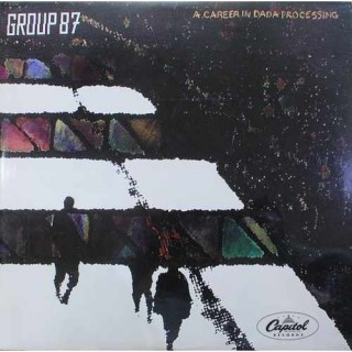 Group 87 ‎- A Career In Dada Processing - ST 12334 - Cover Reprinted - LP Record