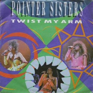 Pointer Sisters ‎– Twist My Arm - PB 49873 - (Condition 85-90%) - EP  Record