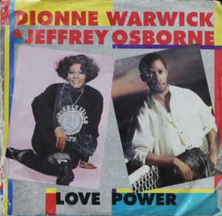 Dionne Warwick & Jeffrey Osborne - Love Power - AS1 9567 - (Condition 85-90%) - Cover Good Condition - EP Record