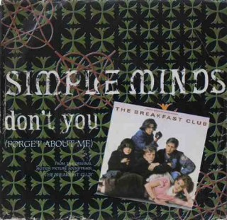Simple Minds – Don't You (Forget About Me) - AM-2703 - (Condition 90-95%) - Cover Good Condition - EP Record
