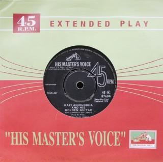 Kazi Aniruddha And His Golden Guitar – Jeena Yahan Marna Yahan - 45-N. 87604 - EP Record