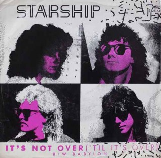 Starship - It's Not Over ('Til It's Over) - 5225-7-G - EP Record