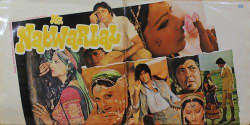Mr. Natwarlal - PEASD 2023 - (Condition 80-85%) - Cover Book Fold - Cover Good Condition - LP Record