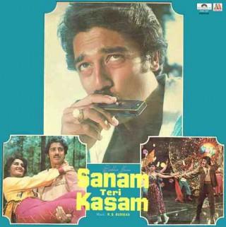 Sanam Teri Kasam - 2392 316 - (Condition 80-85%) - Cover Reprinted - LP Record