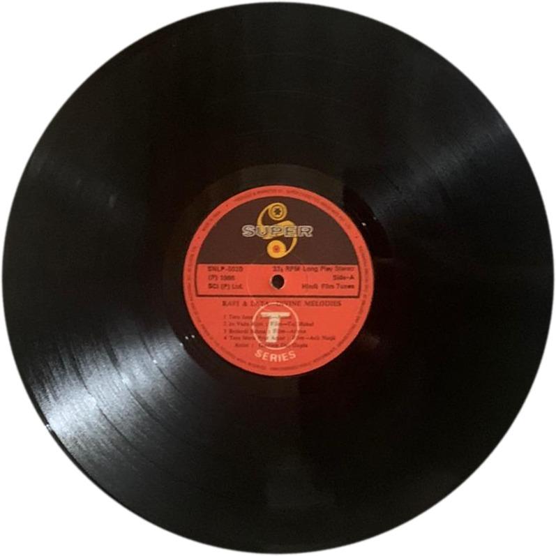 Gautam Dasgupta - Rafi & Lata - Divine Melodies - Instrumental - SNLP 5020 - LP Record
