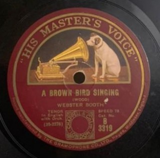 Webster Booth - B. 3319 - 78 RPM