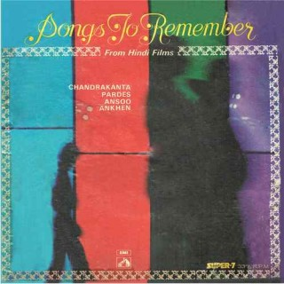 Songs To Remember From Hindi Films - 7LPE 8014 - (Condition 85-90%) - Cover Reprinted - Super 7