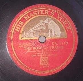 John McCormack - DA. 1119 - 78 RPM