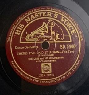 Joe Loss And His Orchestra - BD. 5900 - 78 RPM