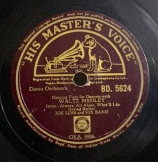 Joe Loss And His Band (Dance Orchestra) - BD. 5624 - 78 RPM