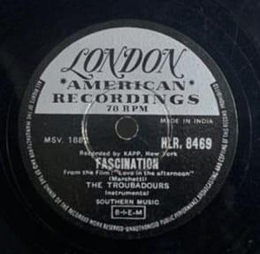 The Troubadours - Instrumental - HLR. 8469 - 78 RPM