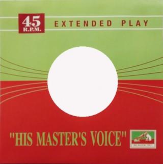 EP HMV Cover - 100 Pieces Set