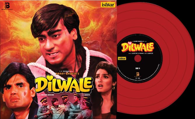 Dilwale - SVR 005 - Red Coloured - LP Record - Expected till October
