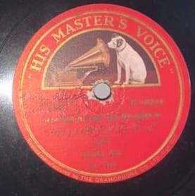 Juthika Ray Hindi Song - N.16489 - 78 RPM