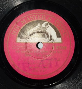 Kalyanji V.Shah – Instrumental Version Film Tune - N.92599 – (Condition 90-95%) - 78 RPM