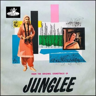 Junglee - 3AE 1010 - (Condition - 75-80%) - Cover Reprinted - LP Record