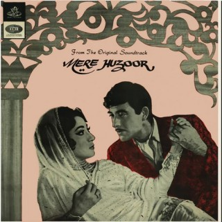Mere Huzoor - TAE 1432 - Angel First Pressing - Cover Reprinted - EP Record