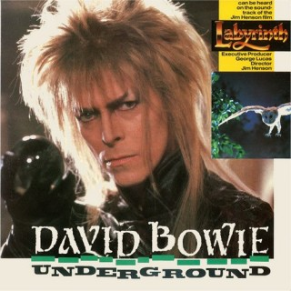 David Bowie - Underground - 20 1281 7 - (Condition 90-95%) - Cover Reprinted - EP Record
