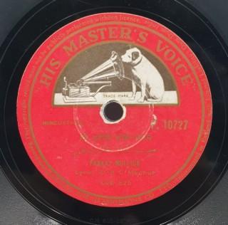 Pankaj Mullick - P. 10727 - (Condition 90-95%) - 78 RPM