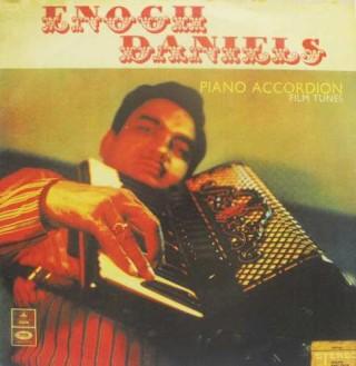 Enoch Daniels Piano Accordion Film Tunes - S/MOCEC 4108 - (Condition 85-90%)  - Odeon First Pressing - LP Record