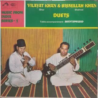 Vilayat Khan & Bismillah Khan - ASD 2295 - (Condition - 85-90%) - HMV Red Label - LP Record