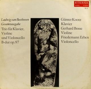 Ludwig van Beethoven - Trio Für Klavier, Violine Und Violoncello B-dur Op.97 - 8 26 081 - (Condition 90-95%) - LP Record