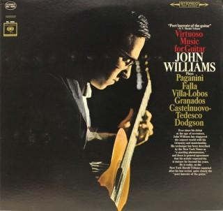 John Williams – Virtuoso Music For Guitar - MS 6696 - LP Record