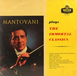 Mantovani – Plays The Immortal Classics - LK 4072 - (Condition 90-95%) - LP Record