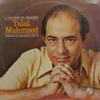 Talat Mahmood - (Album Of Famous Geets) - ECLP 2878 - LP Record