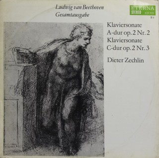 Ludwig van Beethoven - Dieter Zechlin – Klaviersonate A-dur Op. 2 Nr. 2, Klaviersonate C-dur Op. 2 Nr. 3 – 8 25 905 - (Condition – 90-95%) - LP Record