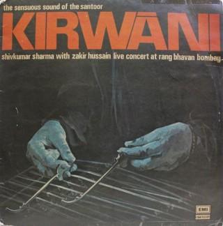 Shiv Kumar Sharma - Kirwani - ECSD 2830 - (Condition 90-95%) - Cover Book Fold - LP Record