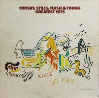 Crosby, Stills, Nash & Young – So Far – SD 18100 - (Condition – 90-95% ) - LP Record