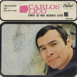 Carlos Lico – No –  EPEM 10182 – (Condition – 90-95%) - EP Record