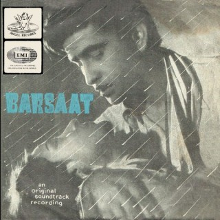 Barsaat - TAE 1321 - (Condition - 90-95%) - Angel - Cover Reprinted - EP Record