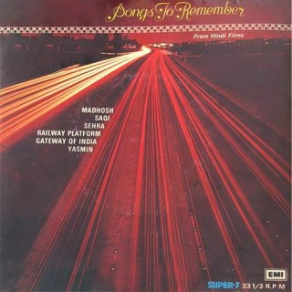 Songs To Remember From Hindi Films - 7LPE 8020 - (Condition 75-80%) - Cover Reprinted - Super 7