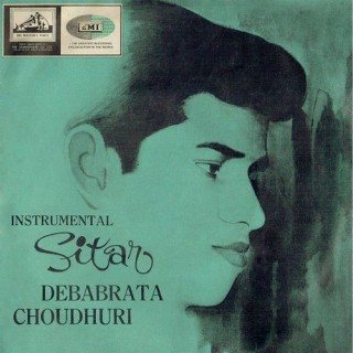 Debabrata Choudhuri - Instrumental Sitar - 7EPE 1859 - Cover Reprinted - EP Record
