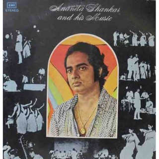 Ananda Shankar And His Music - ECSD 2528 - (Condition 90-95%) - Cover Reprinted - LP Record