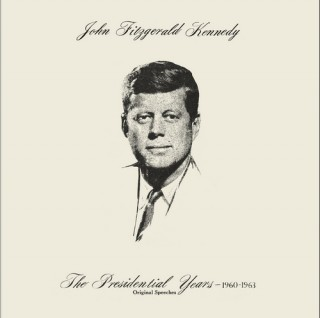 John Fitzgerald Kennedy - Excerpts From Great Speeches - DLP 169 - (Condition - 90-95%) - Cover Reprinted - LP Record
