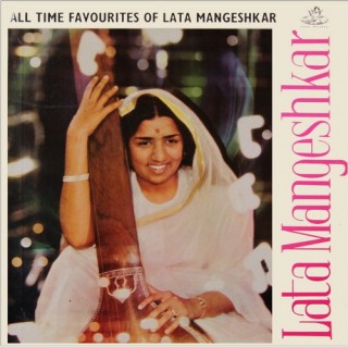 Lata Mangeshkar - All Time Favourites Of  - 3AEX 5013 - (Condition 85-90%) - Cover Reprinted - LP Record