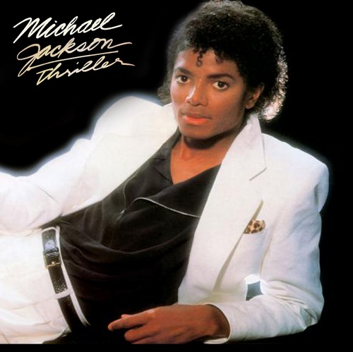 Michael Jackson - Thriller - EPIC 10051 - (Condition 75-80%) - Cover Book Fold - Cover Reprinted - LP Record
