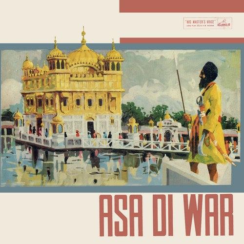 Asa Di War - Gurmukhi - ECLP 2307/08 - (Condition - 85-90%) - HMV Black Label - Cover Reprinted - 2LP Set