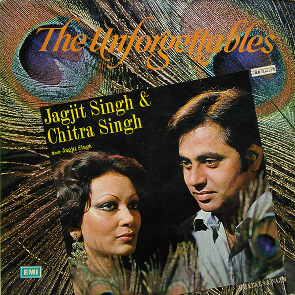 Jagjit Singh & Chitra Singh - The Unforgettables- Ghazals & Nazm - ECSD 2780 - (Condition 90-95%)  - Cover Reprinted - LP Record